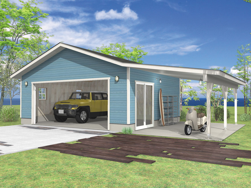 YOU CAN CHOOSE SOME GARAGE PLANS